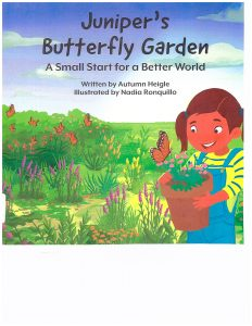 Juniper's Butterfly garden book
